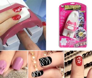 دستگاه طراحی ناخن هالیوود Hollywood Nails
