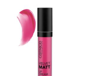 رژ لب مایع مات کاتریس مدل Velvet Matt شماره 040 - آلویی Catrice Velvet