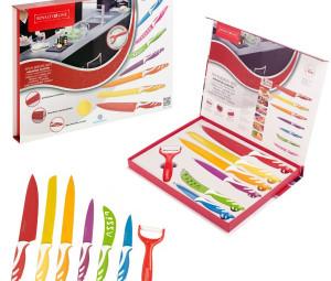 ست چاقو ۷ پارچه سوئیسی
