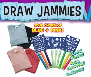 ماژیک لباس جادویی  Draw Jammies