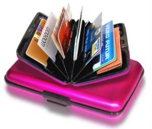 کیف کارت Alumawallet