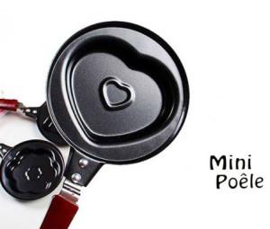 ماهیتابه طرحدار کودک Mini poele