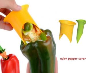 خالیکن دانه فلفل Nylon Pepper Corer